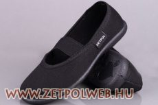 IGA FEKETE 01 vászoncipő