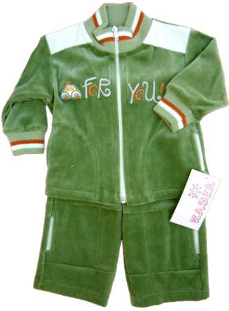 FY Zöld-fehér gyerek melegítő