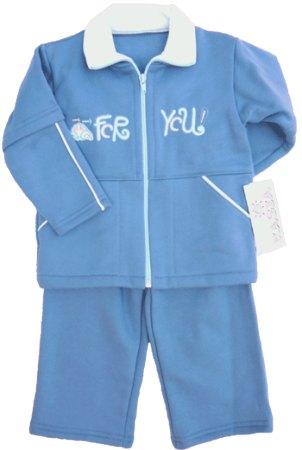 FY Pamut kék gyerek melegítő