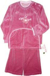 KFY Rózsaszín gyerek melegítő