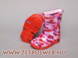 SZUWAREK pink gumicsizma b.n.