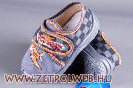 CZESIO SZÜRKE/REPÜLŐS gyerekcipő