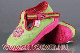 DARIA ZÖLD/PINK gyerekcipő