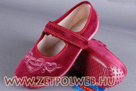 KASIA-BORDÓ/LEPKÉS pantofi copii