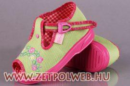 PAULINA ZÖLD/PINK gyerekcipő