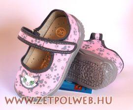 PATRYK sárga csatos pantofi copii