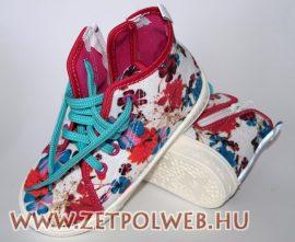 WIKI virágos gyerekcipő