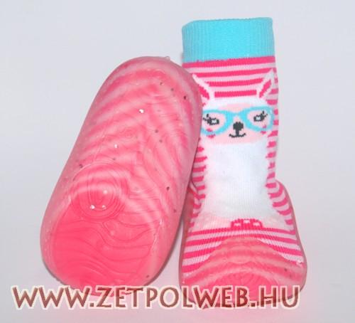 Zoknicipő rózsaszín csíkos - tłumaczenie węgierskie 20ea8657f4