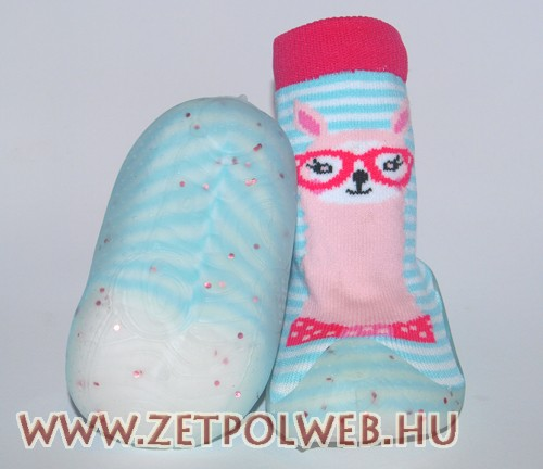 Zoknicipő türkiz csíkos - Gyerekcipő webáruház lengyel gyermekcipők ... e462463f0c